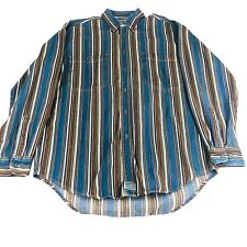 Levi/'s men/'s XL Tumalo poly//cotton long sleeve pullover blue stripes NWT