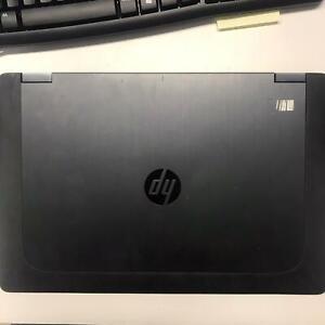 """PC NOTEBOOK PORTATILE RICONDIZIONATO HP ZBOOK 15 15,6"""" I7-4800MQ NO HDD RAM 20GB"""