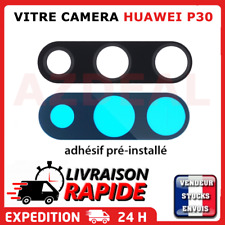 Pour Huawei P30 vitre camera lentille appareil photo arriere lens avec Adhésif