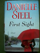 Lot of 2 Danielle Steel ~ First Sight & Silent Honor (Hardcovers)