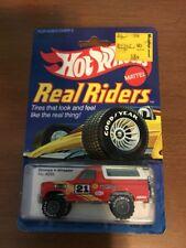Hot Wheels 1/64 - 1982 - Real Riders -  Bronco 4  Wheeler  # 4355