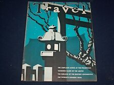 1937 JULY TRAVEL MAGAZINE - JAPANESE SCENE COVER - GREAT PHOTOS - J 1368