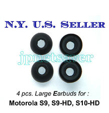 4 pcs. Motorola S9, S9-HD, S10-HD replacement earbuds (large)