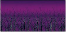 """Halloween FOREST TREETOP BACKDROP Party Decoration PHOTO BOOTH 48"""" IN. X 360"""" IN"""