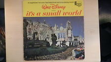 Walt Disney's presents IT'S A SMALL WORLD Book and Record LP 1964