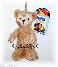 NEW Disney Duffy Bear Hidden Mickey Plush Keychain Ring Mickey Mouse Parks