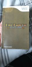 FIRE EMBLEM RADIANT DAWN INSTRUCTION BOOKLET MANUAL ONLY FOR THE NNTENDO WII