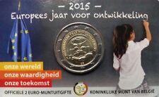 Belgium 2015 : 2 euro coincard. Nederlandse versie/Version néerlandaise.