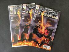 Thanos 18 Regular (3 Copies) & Variant (2 Copies) Cosmic Ghost Rider CGC CBCS It