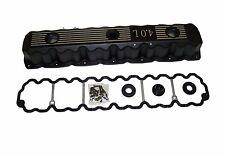 4.0L Engine Aluminum Valve Cover - Black fits Jeep Various Models Inline 6