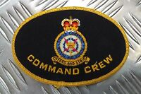 "Genuine Vintage British Royal Air Force Command Crew ""Defend And Strike"" Patch"