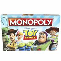 Monopoly Toy Story Edition Board Game Mono Poly Age 8+ Hasbro Gaming
