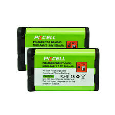 2 Cordless Phone Battery for Uniden BT-0003 BT0003 CLX465  KX6073 PKCELL