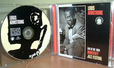 LOUIS ARMSTRONG - Live At The 1958 Monterey Jazz Festival (2007)