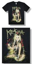 Ke$ha- NEW Blue Lipstick Party BLACK T Shirt-2XLarge SALE FREE SHIPPING TO U.S.!