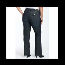 KUT FROM THE KLOTH Bootcut Jeans WOMENS PLUS 20W 20 Dark Denim Triangle Pockets