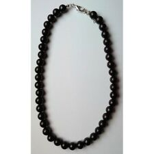 Collier shungite boules 10 mm protection ondes