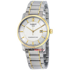 Tissot T0874075503700 T-Classic Automatic Men's Watch - Silver/Gold