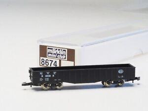 8674 Marklin Z-scale 4 AXLE  GONDOLA NYC New York Central USA NIB