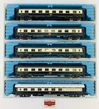 208. Rivarossi N 9592x4 +9663 - Lot 5 Cars Ciwl - 4 Cars Pullman + 1 BAR - Top