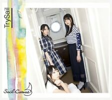 NEW TrySail Sail Canvas First Limited Edition CD Blu-ray Photobooklet from Japan