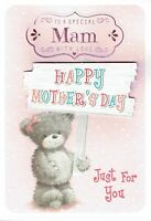 Special MAM Quality  MOTHER'S DAY Card ~ Bear with Sign Design - Mothers day