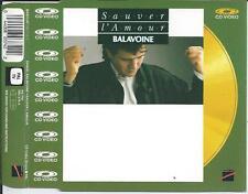 BALAVOINE - Sauver L'Amour CD VIDEO SINGLE 5TR (pal) 1988 France RARE!!