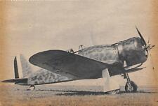 """A3587) WW2 AVIAZIONE """"FRECCIA"""" AEREO DA CACCIA FIAT G 50."""
