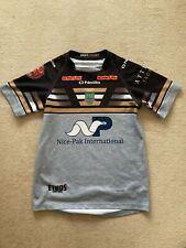 More details for match worn hindley amateur rugby league shirt-age 13 -number 1