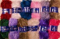 Stylecraft Eskimo Dk Eyelash Knitting Wool Yarn 50g 100% Polyester