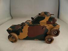 Vb Consistometer Tank Tank Old Tin Clockwork Sheet Metal Engine Wrench 15,5 CM