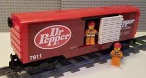 Lego Train Boxcar Dr. Pepper  -- PLEASE READ ITEM DESCRIPTION --
