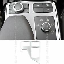 Chrome Silver Car Center Multi-Media Knob Panel Trim Cover For Benz ML GL Class