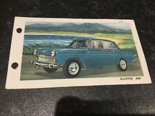 Spot On Triang Austin A60 Technical Data Card