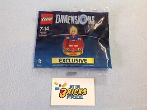 Lego Dimensions 71340 Supergirl Polybag New/Sealed/Retired/Hard to Find