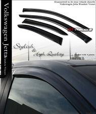 1999-2005 VW JETTA 4D/SEDAN MK4 SUN/RAIN VENT SHADE DEFLECTOR WINDOW VISORS 4PCS