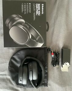 Skullcandy Crusher Bluetooth - Wireless Kopfhörer - Schwarz (S6CRW-K591)/WIE NEU