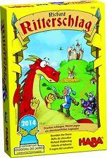 HABA Lernspiel Kinderspiel Ritterschlag 7123 ab 5 Jahre  Legespiel - neu -