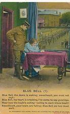 POSTCARD  SONG CARD    Blue  Bell  ( 1 )