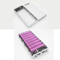 5V 1A/2A Dual USB 8×18650 Battery LED Mobile Power Bank Charger Box  iPhone