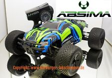 1:10 absima 12243 RC truggy at3.4 brushless 3s, 4wd, 60 km/h 2.4ghz, B-Ware mercancía nueva