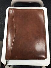 Learher Portfolio Folder Brown