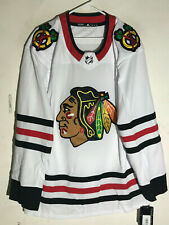 adidas Authentic Adizero NHL Jersey Chicago Blackhawks Team White sz 56
