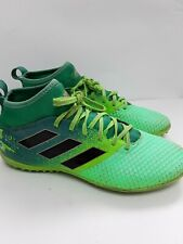 Mens Adidas Sock Trainers Football Astro lime Green Yellow Size 7.5