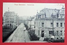 AK PLAUE-BERNSDORF bei Flöha um 1910 Siemsstrasse mit Tüllfabrik Flöha ( 27869