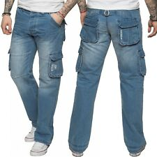 Designer Jeans VON DENIM Straight Leg Flash Branding Smart Cool Pants