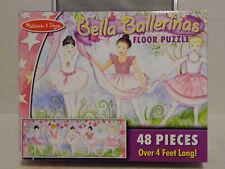Melissa & Doug Bella Ballerinas Floor Puzzle 48 Pieces 4 Feet Long #4413