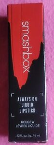 Smashbox Always On Liquid Lipstick - THRILL SEEKER (New in Box) - Full Size