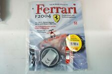 Kyosho DeAgostini Kit Ferrari F2004 / F1-04051 mit Heft OVP Ausgabe Nr.51