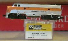 z scale micro trains WESTERN  PACIFIC   f-7 A unit dummy MINT IN BOX